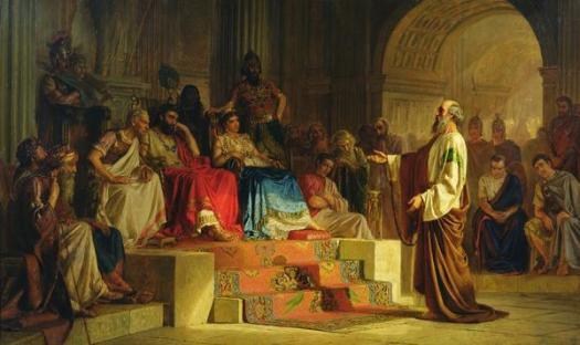 Nikolai_Bodarevsky_001 Paul and Agrippa